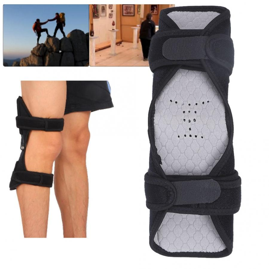 Image 2 - 2pcs Knee Brace Spring Lift Knee Boosters Joint Support Knee Pads for Mountaineering Squat Lift Knee Orthopedic Brace SupportsBraces & Supports   -