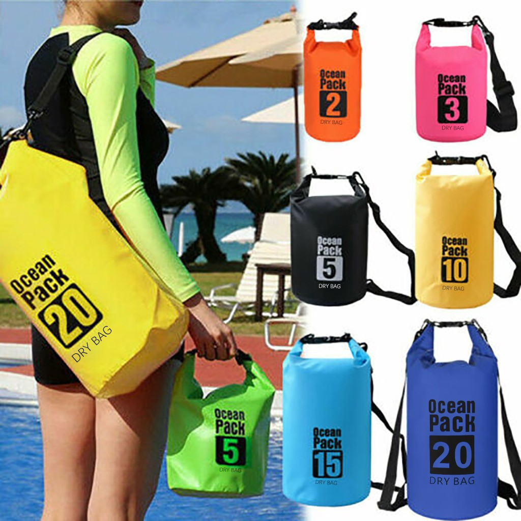 Ocean Pack Dry Bags For Canoe Floating Boating Kayaking Camping ...