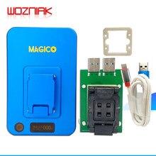 IP Magico kutusu V2 NAND PCIE yüksek hızlı programcı ışığa duyarlı tamir konektörü IP kutusu 2th Iphone 7P için 7 6S 6p 6 5 Ipad