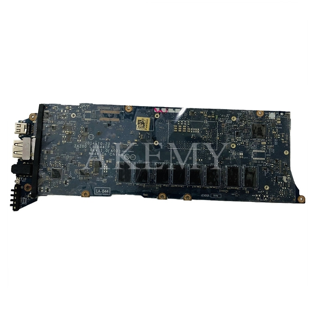 ZAZ00 LA-B441P motherboard for DELL XPS 13 9343 laptop motherboard CN-0WF2C3 0WF2C3 I5-5200U CPU 8GB RAM original tested