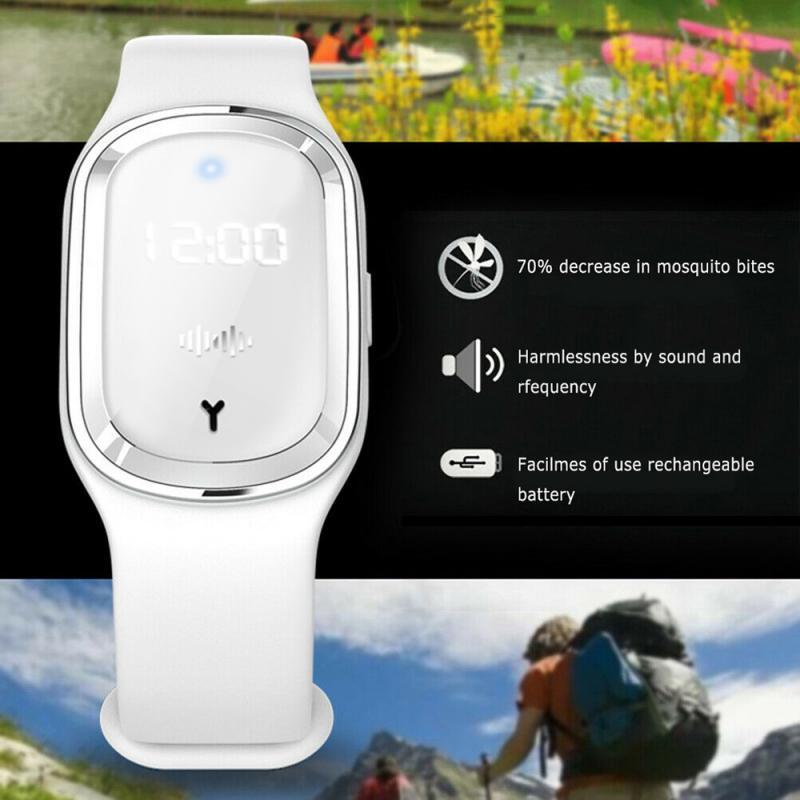 Wristwatch - Ultrasonic Mosquito Repellent