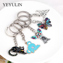 Sports Football Key Chains Souvenirs Koala Bird Keyring For Men Soccer Fans Keychain Pendant Boyfriend Gifts(China)