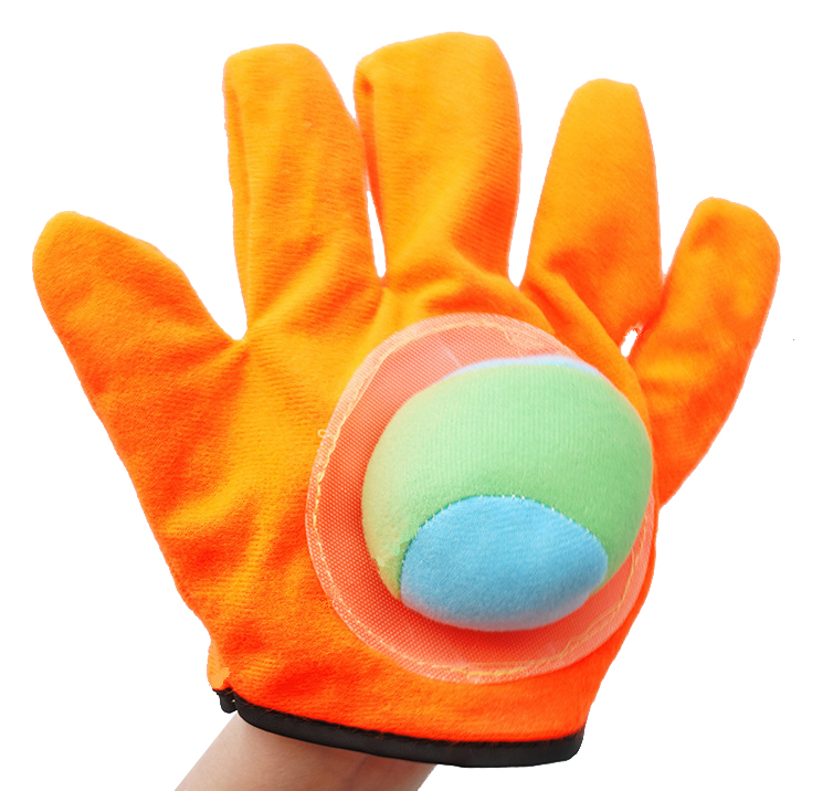 1 Set Kids Sucker Sticky Ball Toy Outdoor Sports Catch Ball Game Set Throw And Catch Parent-Child Interactive Outdoor Toys GYH