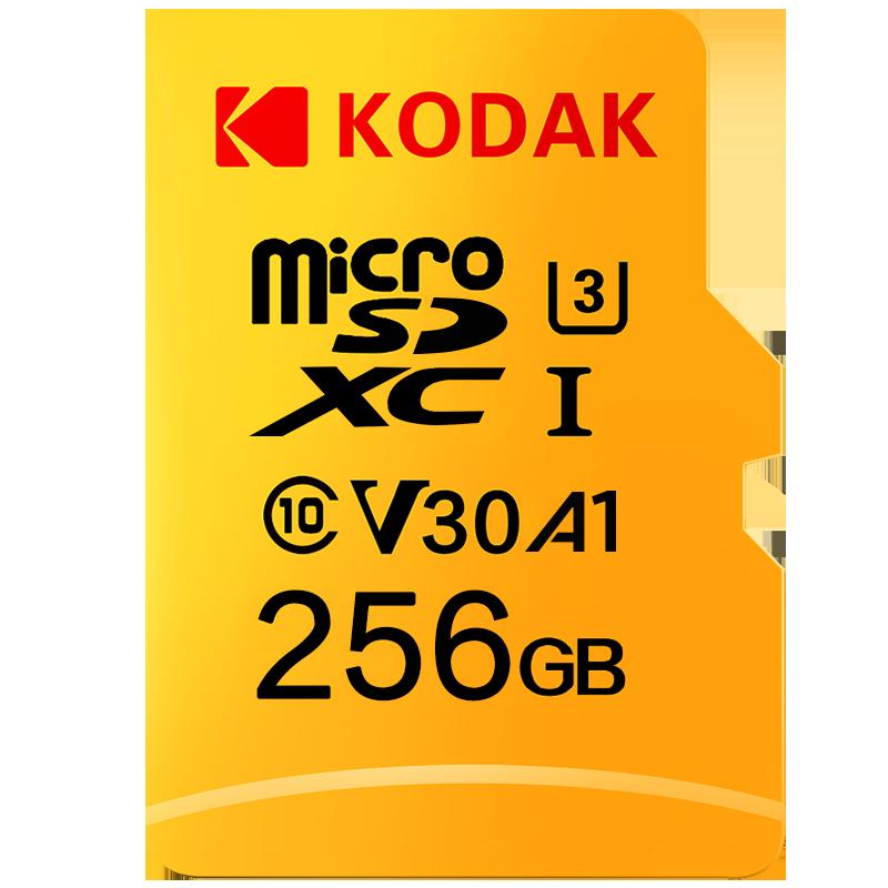 Kodak de alta velocidad 512GB tarjeta Micro SD Clase 10 U3 4K 32GB cartao de memoria de 128 GB, tarjeta de memoria Flash mecard Micro sd de 64GB kart