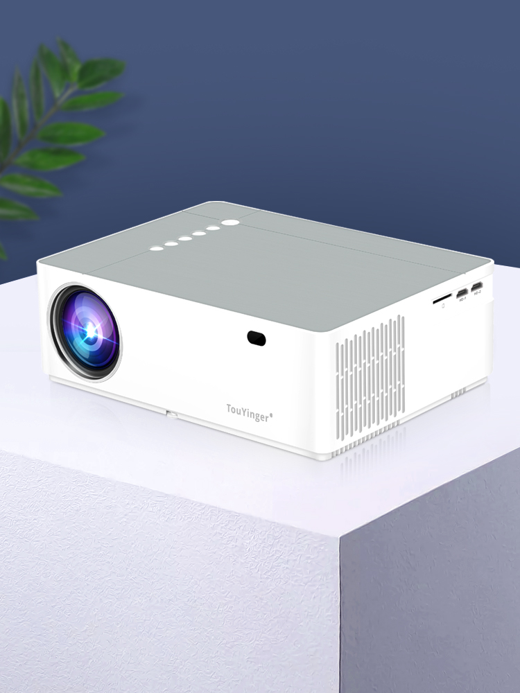 Touyinger Home Theater Video-Projector Beamer Movie Hdmi Av Full-Hd 1080P LED 6800lumen