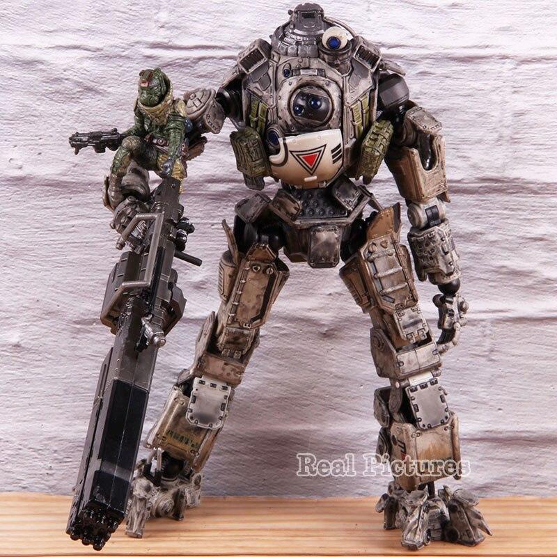 Play Arts Kai Titan Fall 2 Atlas Titanfall Figure PVC Action Figures Collectible Model Toys For Boys Gift