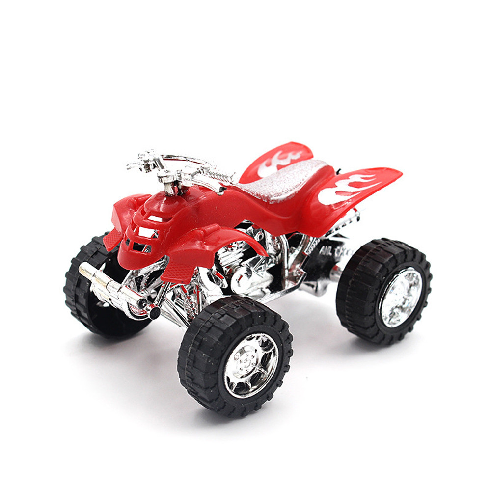 Beach Motorcycle Toy Pull Back Diecast Motorcycle Early Model Educational Kids Toys