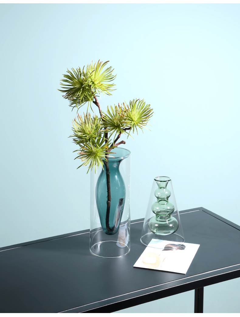 Glass Flower Vase free shipping