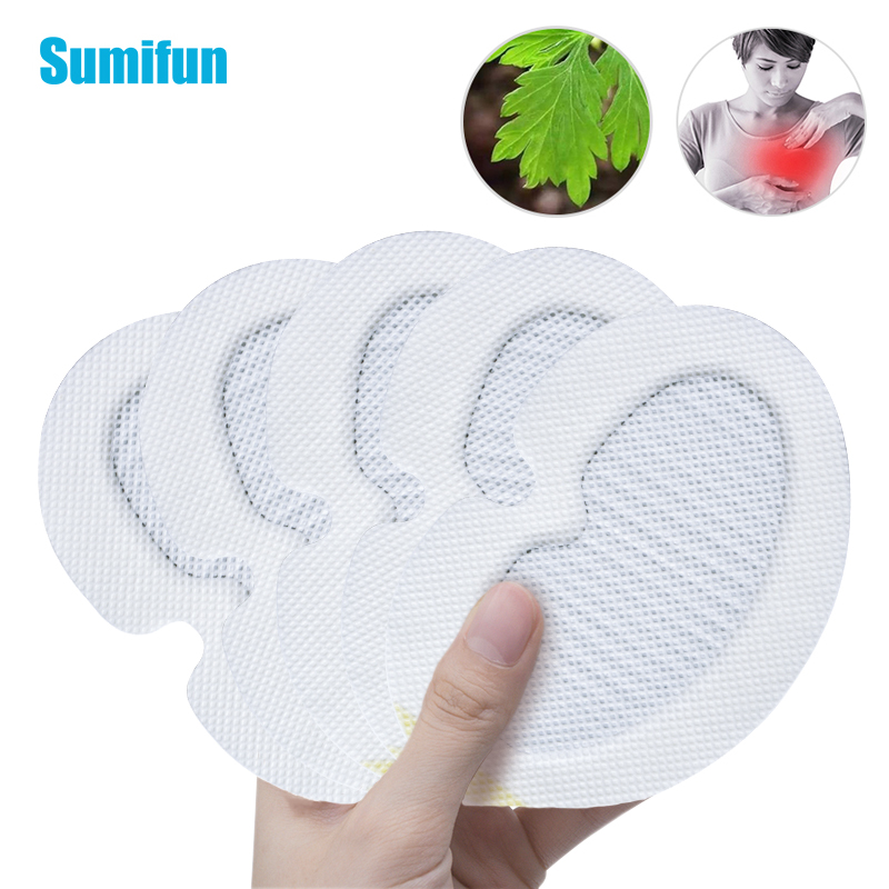 30Pcs New Breast Pain Relief Patch Swelling Pain Reast Anti Breast Cancer Sticker Hyperplasia Chornic Mastitis Medical Plaster