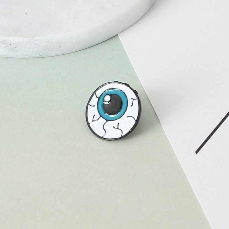 النسخة الكورية من مجوهرات اللون قطرة الإنسان بروش القلب الدماغ العين الأسنان بروش اكسسوارات الجملة شارة بدبوس الساخن بيع