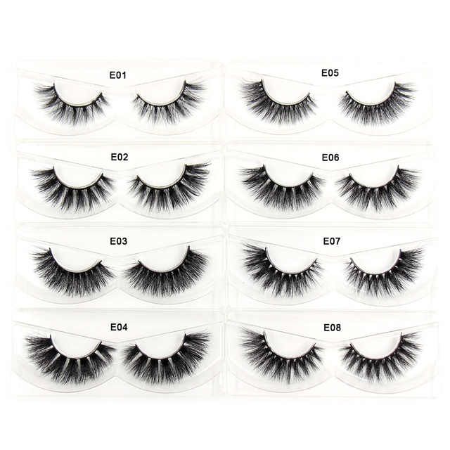 AMAOLASH Eyelashes Mink Eyelashes Thick Natural Long False Eyelashes 3D Mink Lashes High Volume Soft Dramatic Eye Lashes Makeup 1