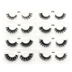 Image 2 - AMAOLASHขนตาMinkขนตาหนาขนตาปลอมธรรมชาติยาว 3D Mink LashesปริมาณสูงSoft Eye Eye Lashesแต่งหน้า