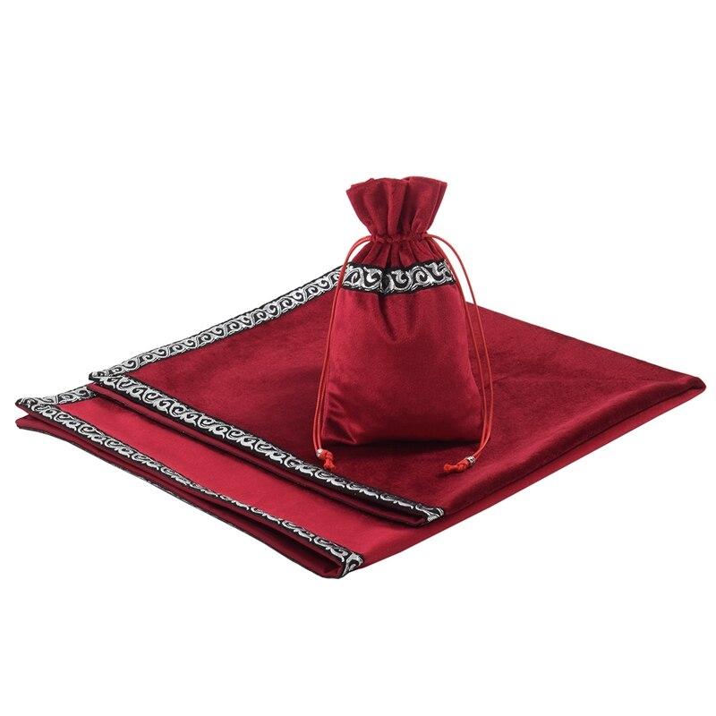 Altar Table Cloth Tarot Cards Bag Velvet Tablecloth(China)