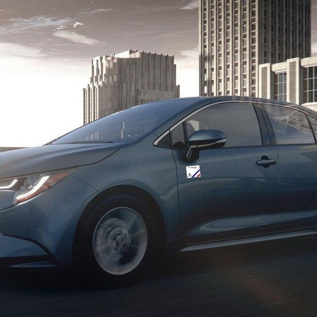 Купить декоративная наклейка 3d алюминиевый автомобильный значок эмблема
