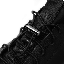 1 Pair Elastic Shoelaces No Tie Shoe laces Round Metal Buckle Leisure Sneakers Lazy Kids Adult Quick Lock lace