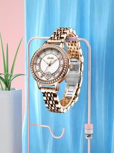 SUNKTA Bracelet Watch Clocks Gift Woman Dress Top-Brand Women Luxury Quartz Feminino