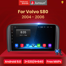 Junsun V1 2G+32G Android 9.0 For Volvo S80 2004 2005 2006 Car Radio Multimedia Video Player Navigation GPS 2 din dvd