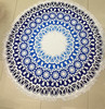 Round Microfiber Tessellate Mandala Beach Towel - Beach Blanket 16