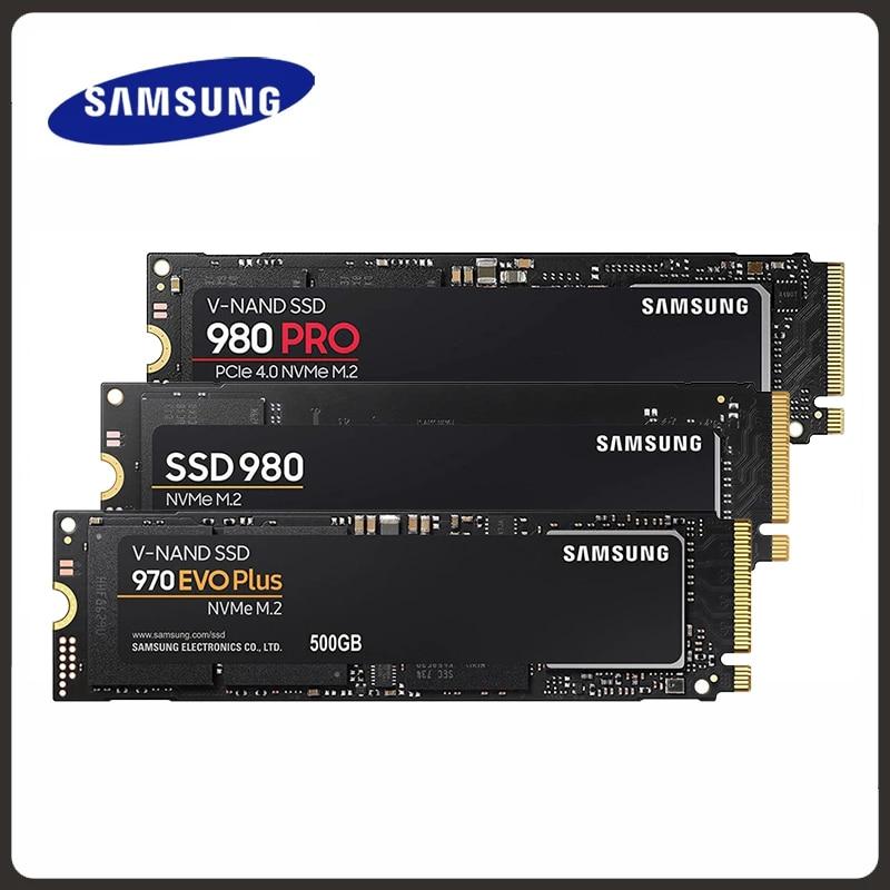 SSD M.2 SAMSUNG M2 1 ТБ 500G 250G HD NVMe 980 pro жесткий диск HDD жесткий диск 1 ТБ 970 EVO Plus твердотельный PCIe для ноутбука 1to