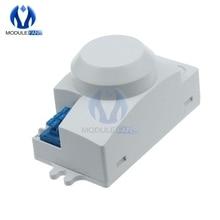 Переменный ток 220 В 5,8 ГГц микроволновый датчик движения датчик переключатель для светильник