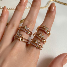 Złoty motyl otwarte pierścienie dla kobiet Vintage otwarty regulowany pierścień specjalny Resizable pierścień kreatywna miłość na zawsze biżuteria tanie tanio CN (pochodzenie) Miedziane Kobiety Metal Klasyczny Zestawy ślubne ROUND Ustawienie napięcia moda Na imprezę Pierścionki