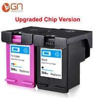 GN 304xl nova versão do chip cartucho de tinta para impressora hp Deskjet 2620 2630 2632 5030 5020 5032 3720 3730 5010 impressora para hp 304 304XL
