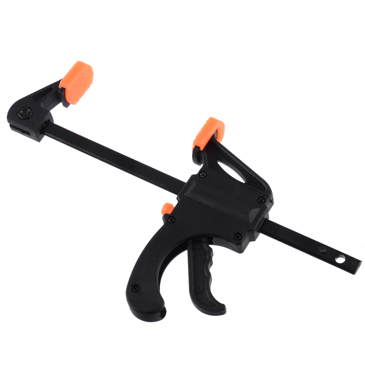 4'' Wooden Board Frame Quick Ratchet Fixed Clip Clamp DIY F Clamp Release Speed Squeeze Bar Fixing Clamp Clip Spreader Hand Tool