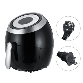 5.5L Electric Air Fryer Multi-function Pan With Basket Health Chip Oil Free Oven Cooker LED Touch Screen Non-stick Pot Coating 6