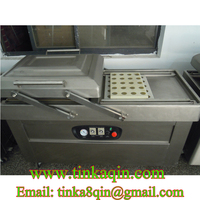 DZ 400 2SB Double chamber vacuum machine Meat vacuum machine Commercial Sealer food stainless steel Foil bag Vacuum machine