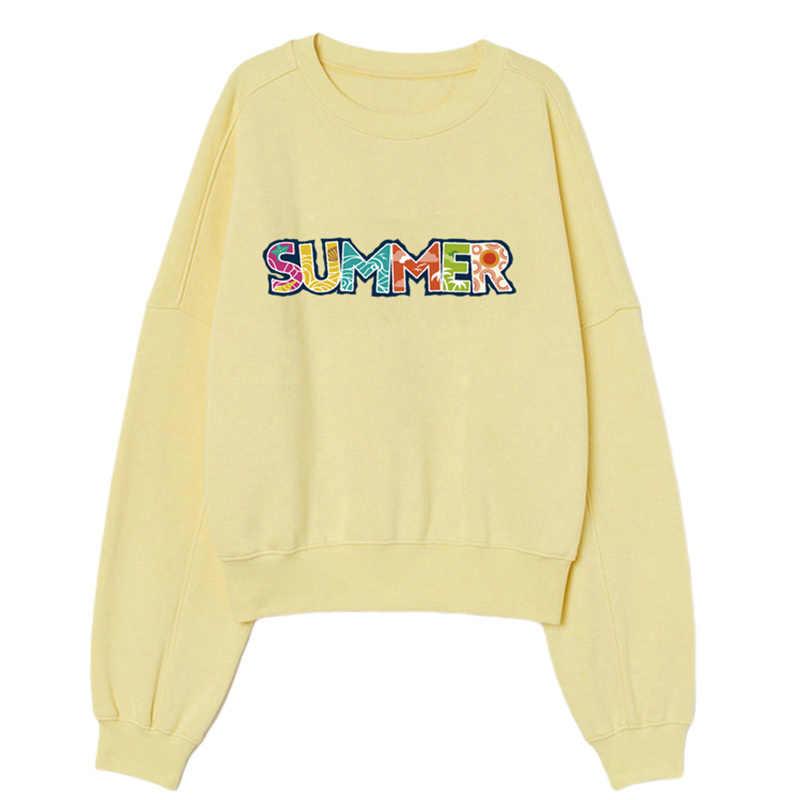 ฤดูร้อนแพทช์สำหรับเสื้อยืดสาวเสื้อผ้า HEAT Transfer สติกเกอร์ DIY ใช้งานง่าย Patch รีดผ้าซักผ้า Appliqued CUSTOM Dropshipping