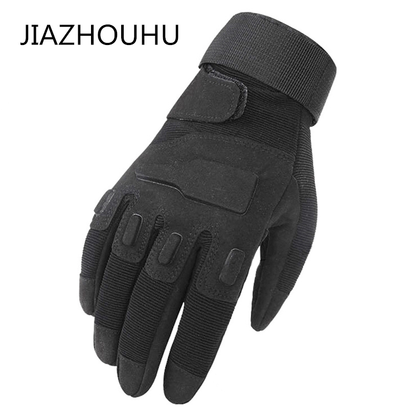 Tactical GLoves Motocycle Army Military Full Finger Combat Carbon Fiber Sports Outdoor Cycling Driving Men's Tactical Gloves
