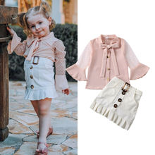 Emmababy Toddler Kids Baby Girl Mesh Patchwork Long Sleeve S