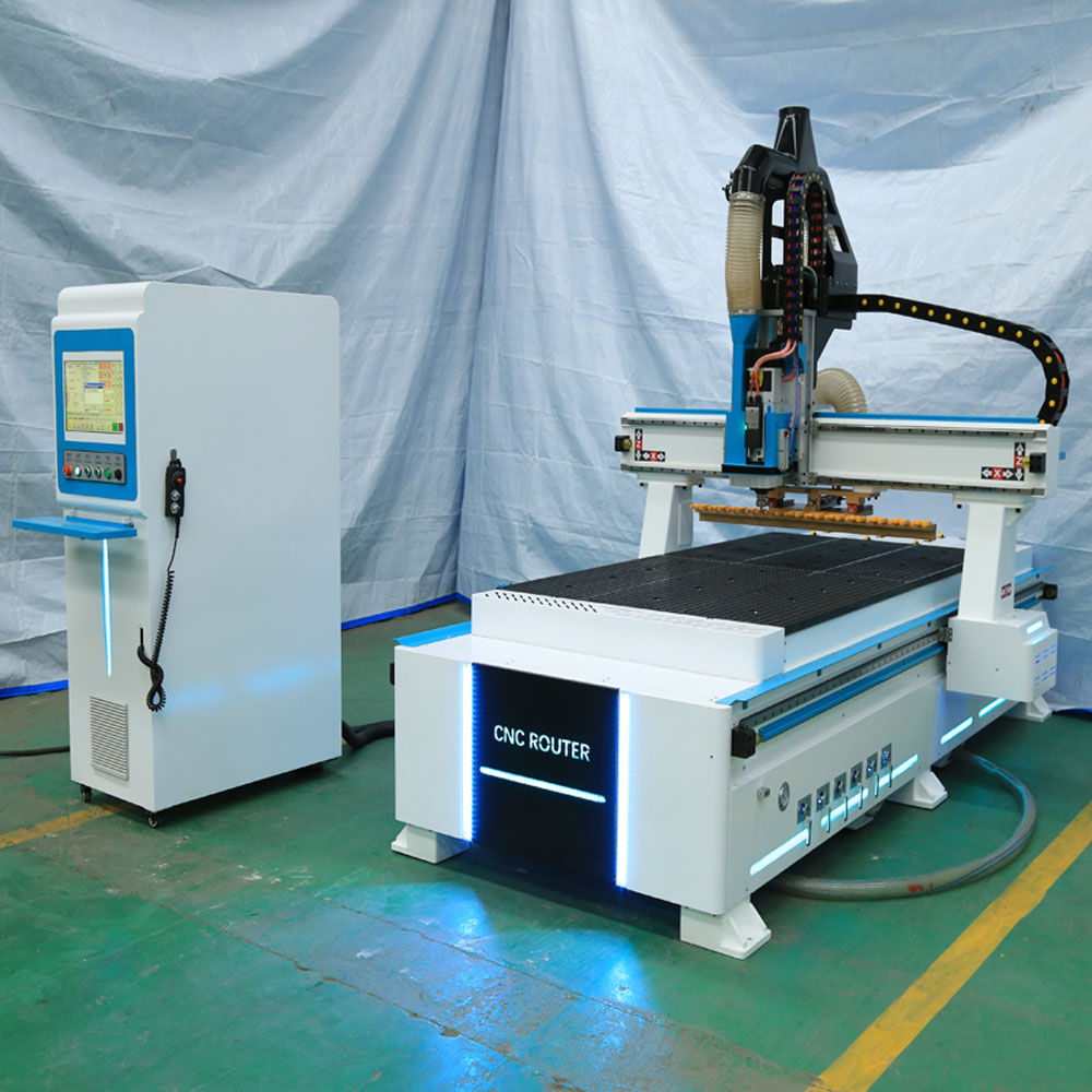 1325 Cnc Wood Cutting Machine/nesting Cnc Router With Linear 12 Pcs Atc Auto Tool Changer