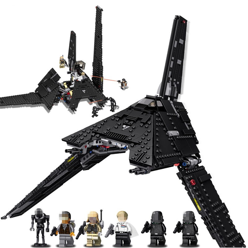 Star Wars Krennic's Imperial Shuttle Fighter STARWARS Building Blocks Sets Bricks Classic Model Toys compatible Legoinglys
