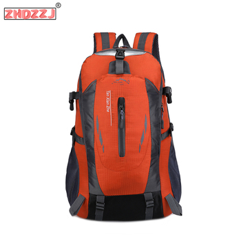 New Travel Climbing 6 Colors Backpacks Men Travel Bags Waterproof 40l Hiking Backpacks Sport Backpack Outdoor Camping Backpack facecozy camping hiking outdoor waterproof backpack men