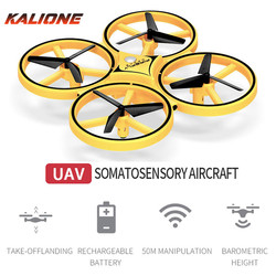 Pilot gest samolot mały Quadcopter indukcyjny Drone inteligentny zegarek Noctilucent interakcja UFO somatosensoryczny prezent xmas