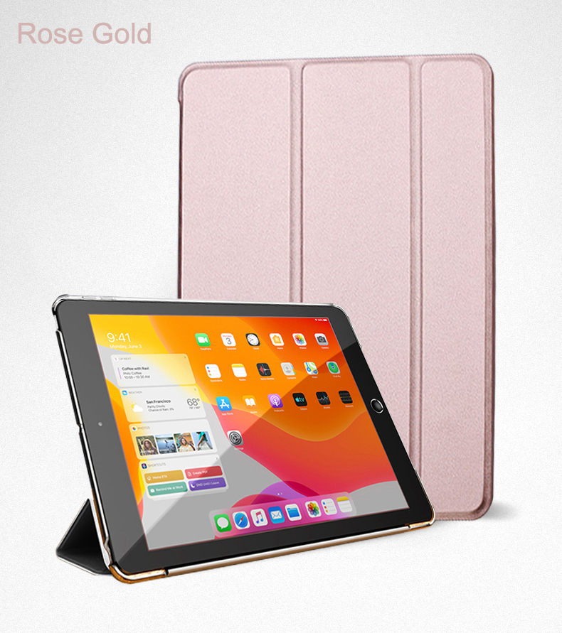 Leather Auto Cover Flip 10.9 Trifold Stand Case Air Full 2020 iPad PU Wake For Smart