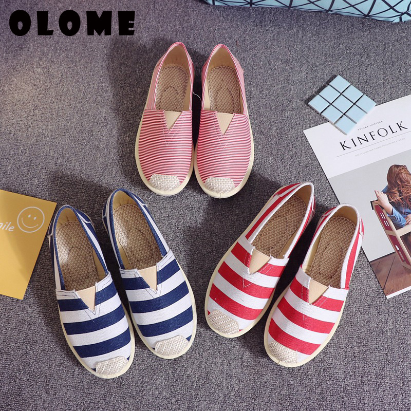 Flat Shoes Women Sneakers Women 2019 Spring New Casual Single Lazy Shoes Female Fisherman Female Ladies Shoes Espadrilles