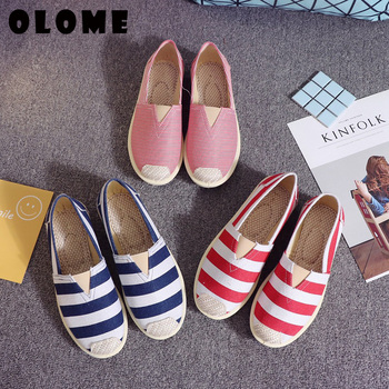 Flat Shoes Women Sneakers 2019 Spring New Casual Single Lazy Female Fisherman Ladies Espadrilles