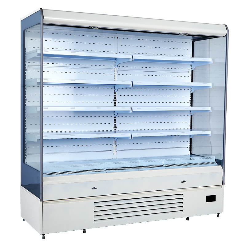 Commercial Refrigerator Cold Showcase Fridge For Vegetable Drinks Water Freezing Equipment