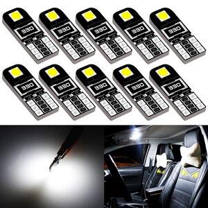 10pcs W5W T10 Canbus Car LED Bulb for Honda Civic 2018 2012 2006 2011 2008 License Plate Light Side Marker Trunk Lamp 194 168(China)