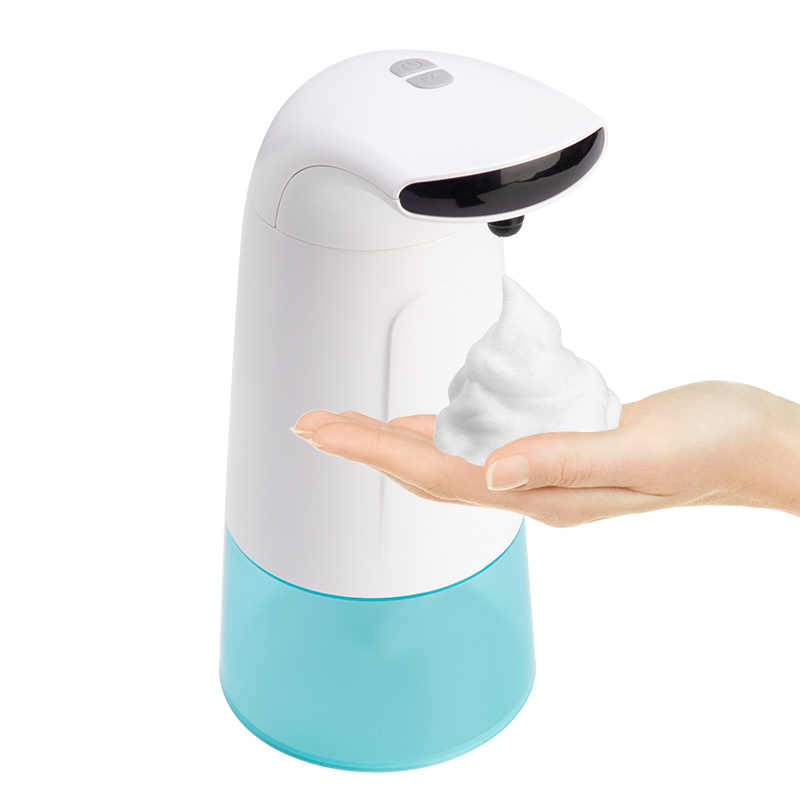 250ml Wasserdichte Schaum Flüssigkeit Dispenser Automatische Seife Dispenser Sensor Touchless Hand Washer Seife Spender Pumpe