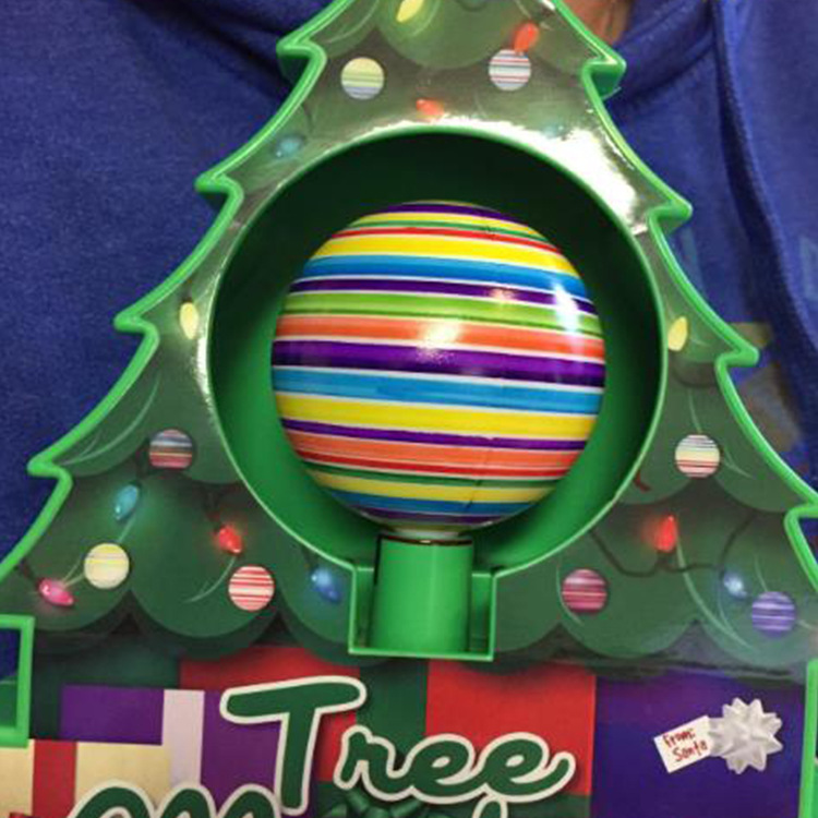 Christmas Tree DIY Colored Drawing Ball Children Painted Christmas Gift Collocation Christmas Tree Set New Style Educational Toy