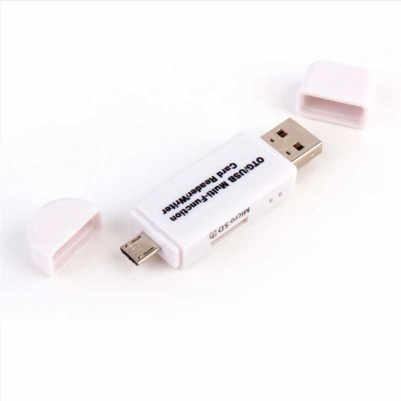 GAOMUYUE قارئ بطاقات USB2.0 ل MicroSD في قارئ بطاقات s usb 2.0 ل SD/TF بطاقات على الكمبيوتر و Loptop والهاتف low 3