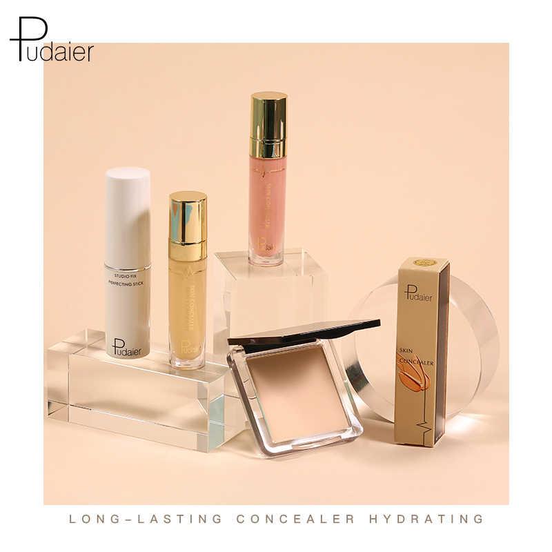 Pudaier yüz tabanı makyaj seti vakfı krem cilt bronzlaştırıcı pudra sıvı kapatıcı kozmetik kapak koyu daire akne Mark Spot