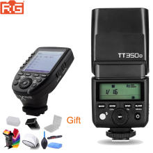 Godox TT350 GN36 2.4G TTL HSS Mini Flash Speedlite + XPro X Flash Zender Trigger Kit voor Canon nikon Sony Fuji Olympus Camera