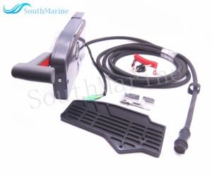Подвесной мотор пульт дистанционного управления коробка в сборе 703-48230-14 703-48203-15 703-48203-17 для лодочного мотора Yamaha, 7 контактов левая сторона тя...