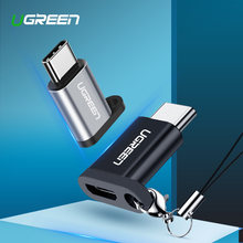 Ugreen USB C OTG Adapter Type C to Micro USB Charger Cable Converter for Macbook Pro Samsung Galaxy S10 S9 Huawei Type-C USB OTG(China)