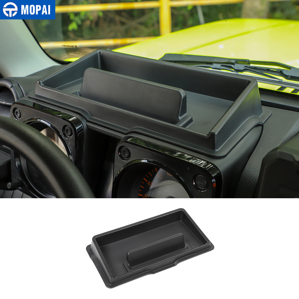 MOPAI Stowing Tidying For Suzuki Jimny JB74 2019+ Car Dashboard Storage Box Organizer Tray For Suzuki Jimny 2019+ Accessories
