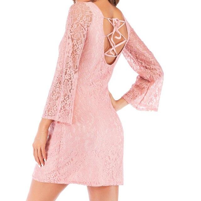 Nouveau 2020 été robes de maternité dentelle bohème robe col en V à manches longues enceinte photographie robe pour prendre Part désherbage